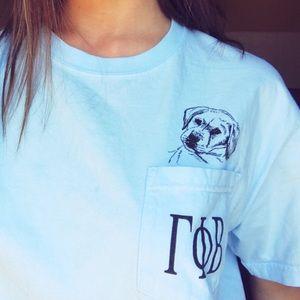 Comfort Colors Tops - GPHIB puppy pocket tee